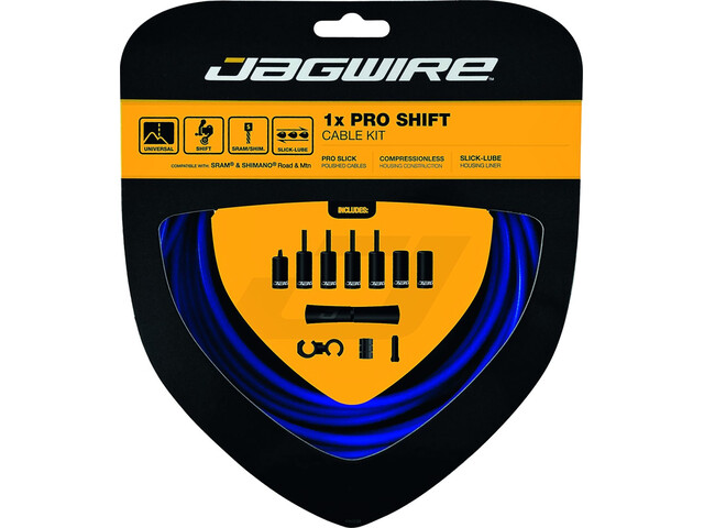 Jagwire 1X Pro Shift Shift Cable Set blue